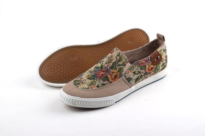 Men Shoes Leisure Comfort Men Canvas Shoes Snc-0215013