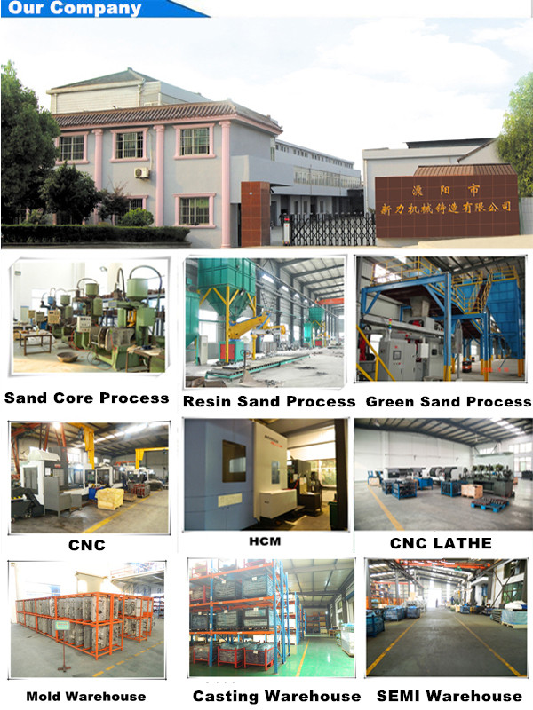 Casting/ Pump Casting /Sand Casting ISO9001 Gl