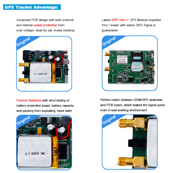 Worlds Smallest GPS Tracking Device with Free Online Tracking (MT05-KW)