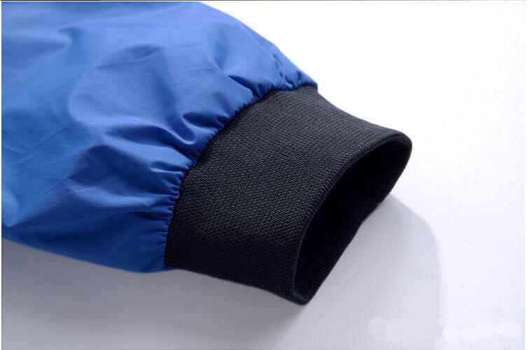 OEM New Design Custom Nylon Sports Waterproof Windbreaker Jacket for Men