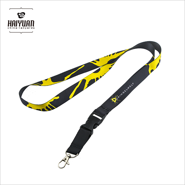 Promotional Sublimation Printing Nylon Lanyard