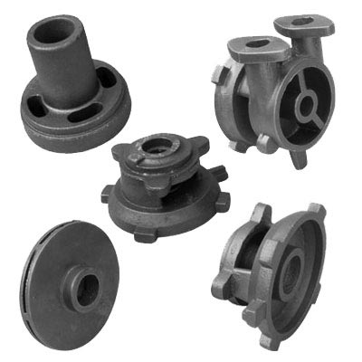 China Foundry Customized Ductile Cast Iron Water Pump Parts