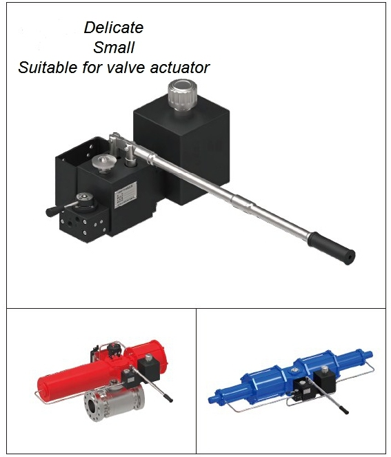 Ball Valve Butterfly Valve Manual Hydraulic Pump