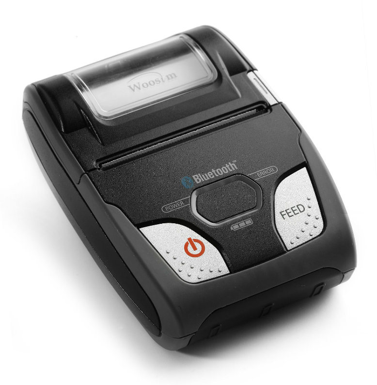 58mm Mobile Ios/Android Bluetooth Thermal Receipt Printer Woosim Wsp-R240 for iPhone/Pad/Android