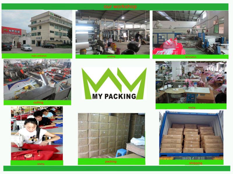 OEM Order Custom Printing Lamination PP Woven Shoulder Bag