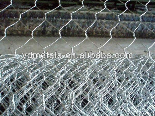 Galvanized/PVC Coated Hexagonal Wire Mesh /Livestock Wire Netting