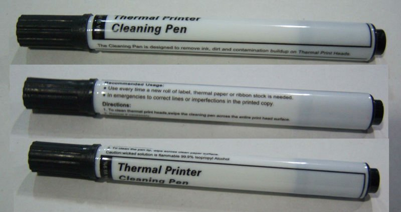 Alcohol IPA Thermal Printer Head Cleaning Pen with 99 9
