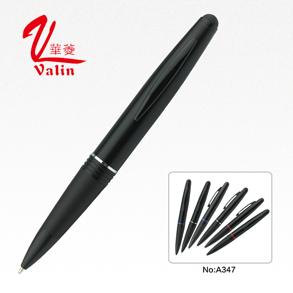 New Design Black Business Metal Stylus Ball Pen on Sell