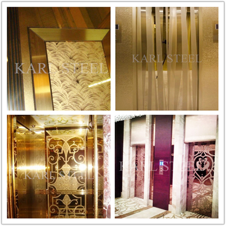 Stainless Steel Color Mirror 8k Kmf001 Sheet for Decoration Materials