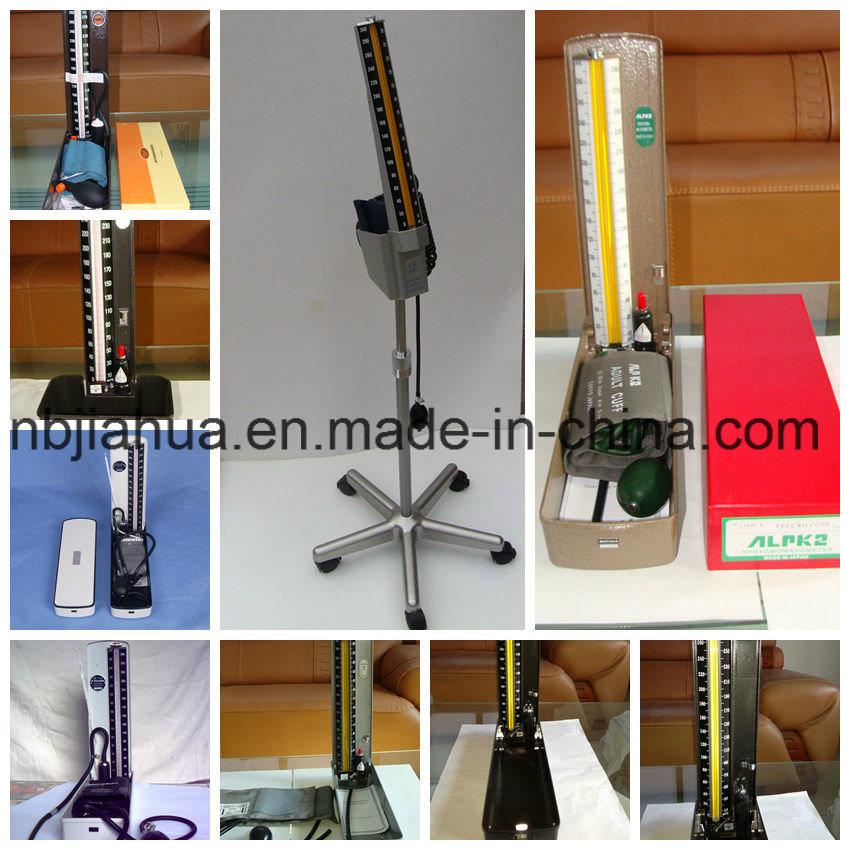 Desk Type Mercury Sphygmomanometer (Nylon cuff and cotton Cuff Available)
