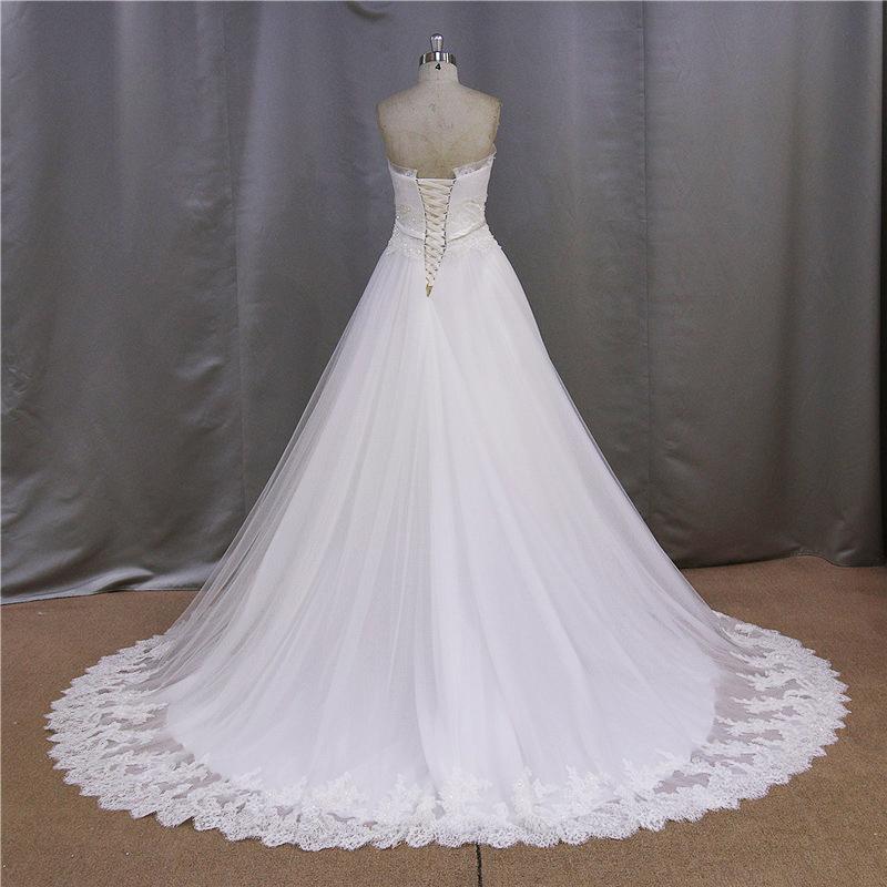 Elegant A Line Lace 2016 Bridal Dresses (SL308-1)