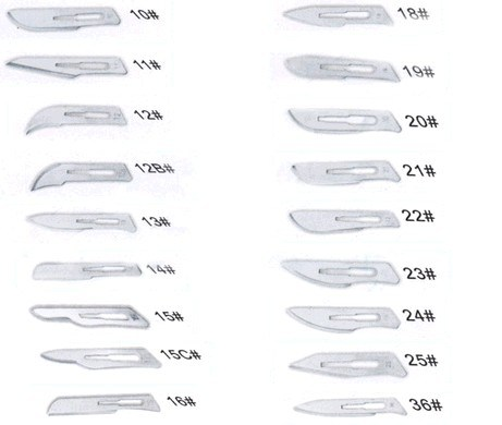 Surgical Blade with High Quality (QDMH-2032)