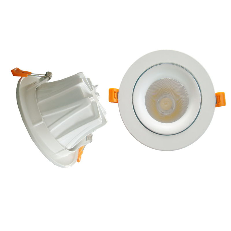 New Design 90lm/W 7W/10W/15W Adjustable COB Down Light LED Downlight with 3 Year Warranty