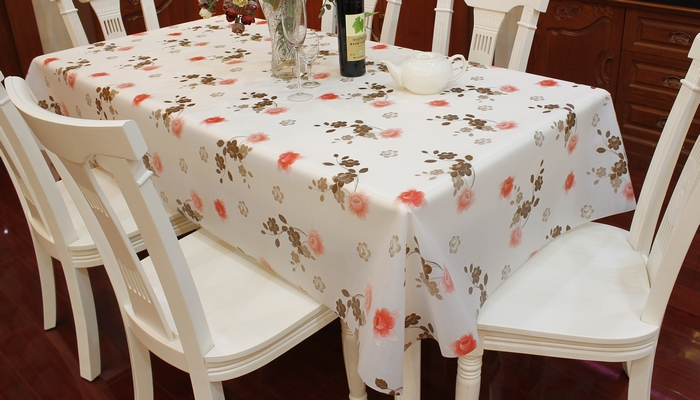 EVA\PEVA Table Cover, Flower Design