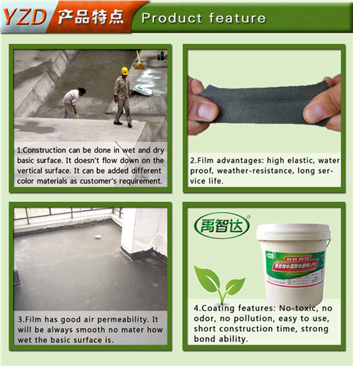 Waterproof Material High Polymer Composite Wter Proof Material