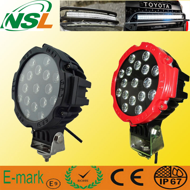 New Wide Voltage (9~32V) 43W LED Work Light/Car Fog Machine/Boat Lights/Lights for Fishing
