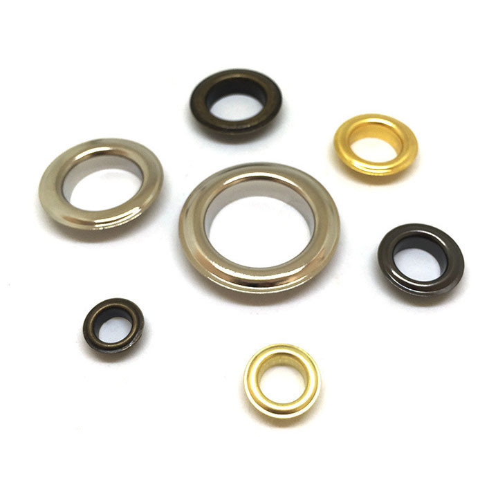 Copper Brass Stainless Steel Metal Custom Apparel Eyelets