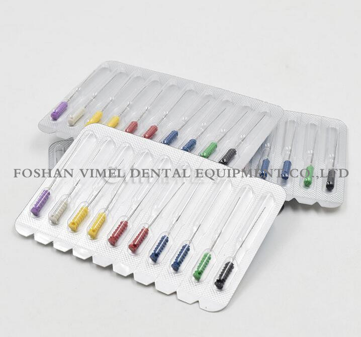 Dental Endodontic Files Root Canal Short Barbed Broaches Assorted /Single