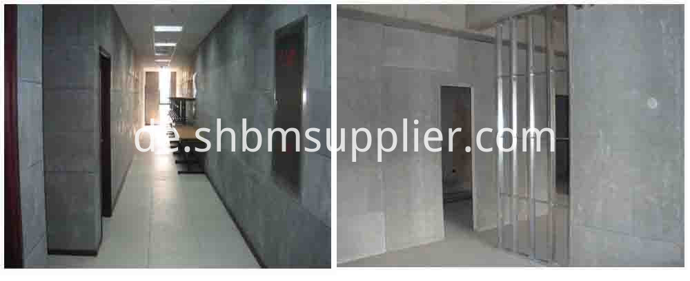 Impact-Resistant Fireproofing External Fiber Cement Board