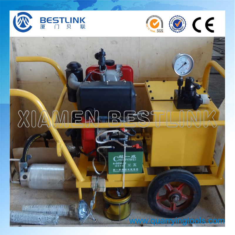 C12 (N) Darda Hydraulic Splitter Cylinder for Rock and Concrete