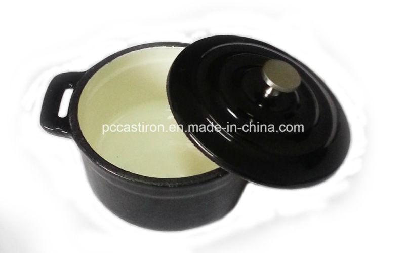 10cm Cast Iron Mini Cocotte Pot China Factory