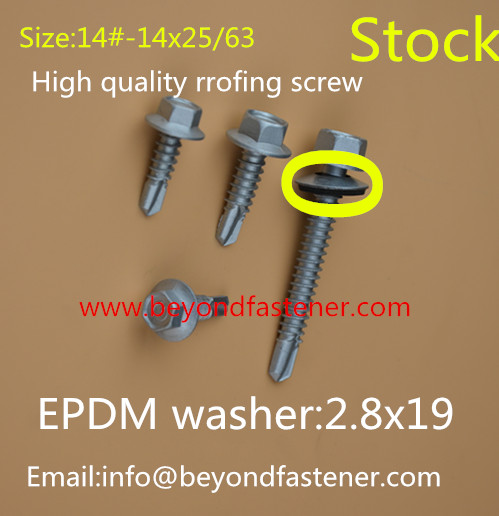 Coated Head Screw Painted Head Screw Self Drilling Screw