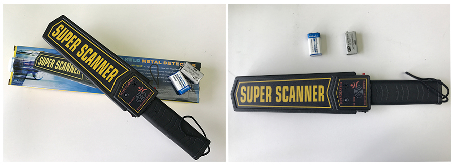 Hot High Sensitivity Hand Held Metal Detector Used in Important Place
