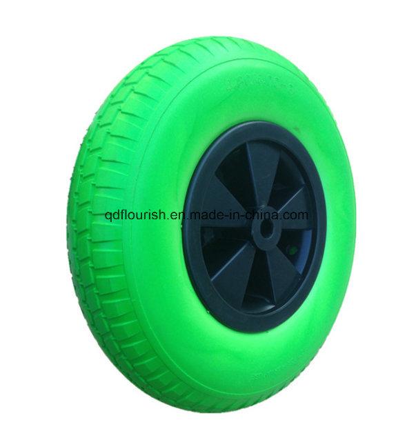 Solid Rubber Tyre PU Foam Wheel for Hand Truck