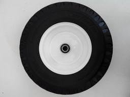 410/350-6 Water Wave Pattern PU Foamed Wheelbarrow Wheel