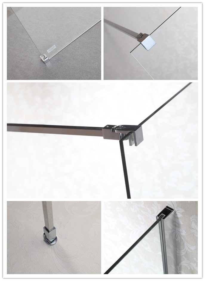 Hot Selling Wholesale Shower Screen with Tempered Glass (LT-9-3490-C)