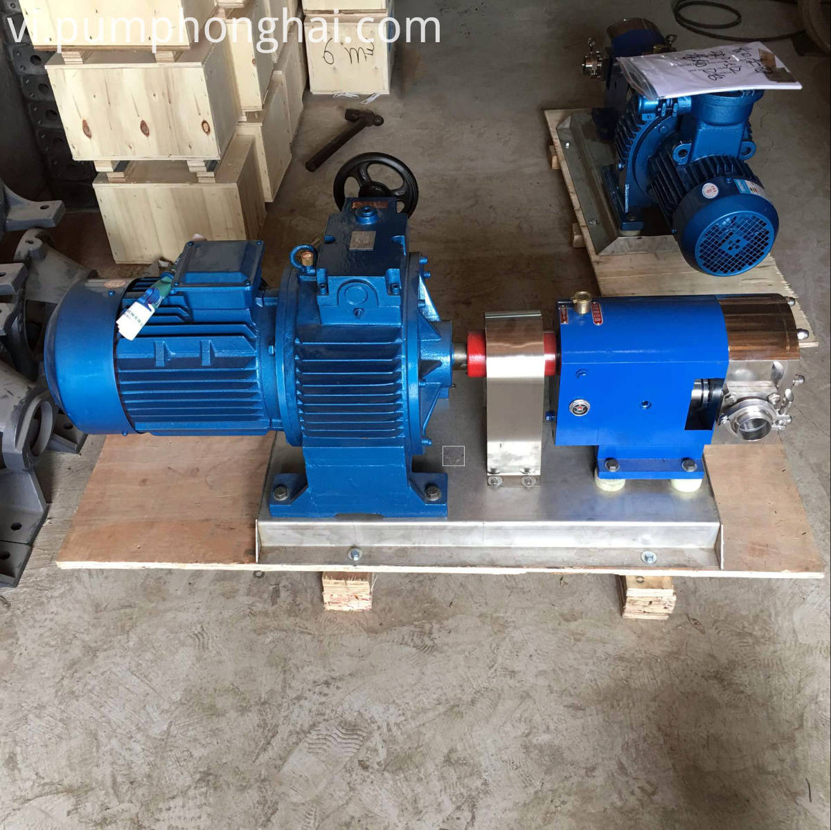 3RP stainless steel food grade cam rotor pump