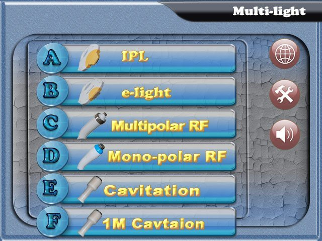 Multifunction Beauty Machine (IPL+RF+elight + cavitation)