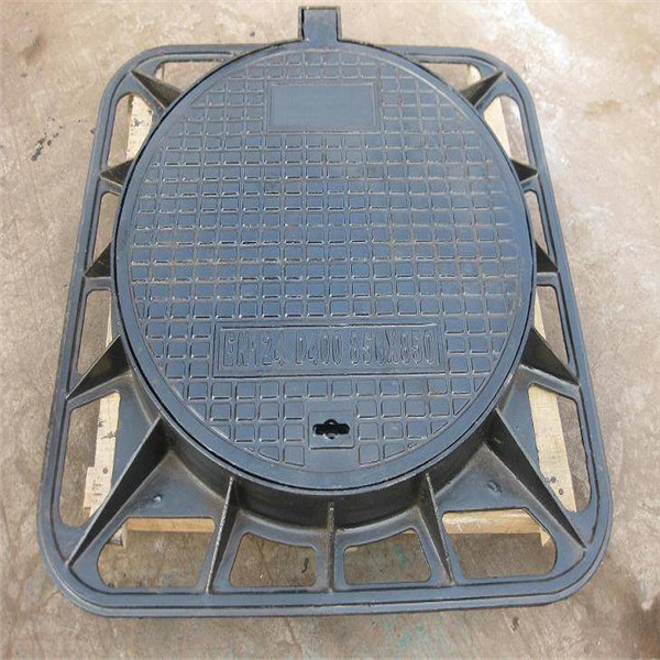 Alibaba Hot Dipped Galvanized Manhole Covers and Frame/Catwalk Steel Grating