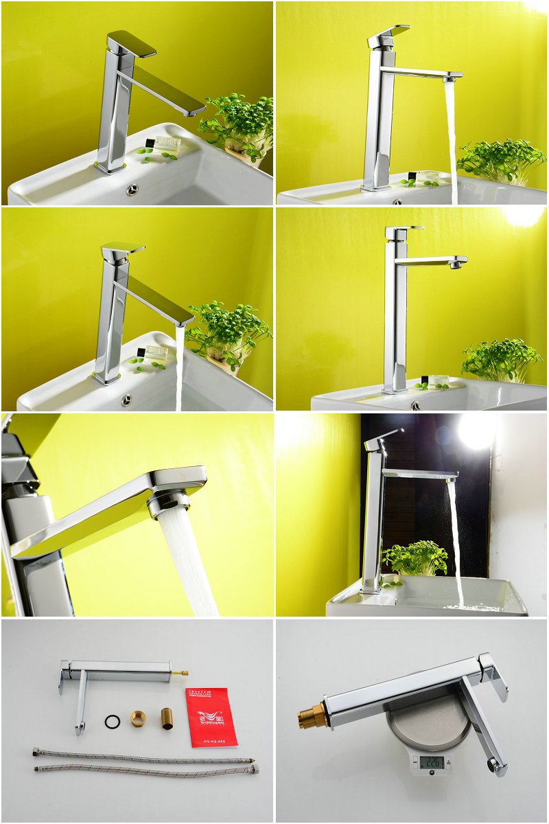 Vertical Deck Mounted Basin Mixer