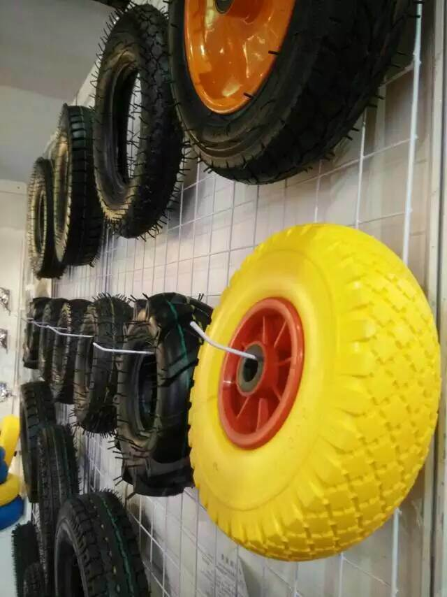 Small Wheel of Tool Cart, 260X85 3.00-4 Hand Trolley Wheels