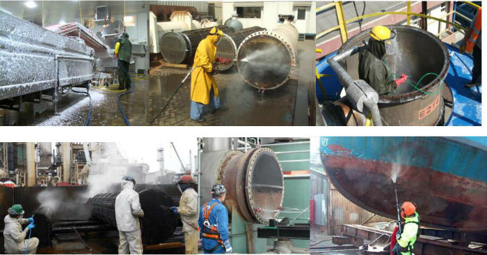 Marine High Pressure Cleaning Equipment with Pressure 31/150 MPa