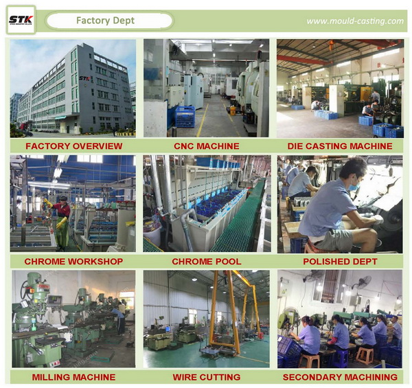 China Professional High Pressure Casting Parts Zinc Die Casting (STK-ZDO0017)