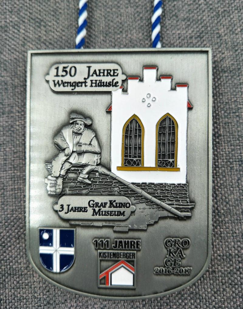Souvenir Sport Metal Medal with Ribbon