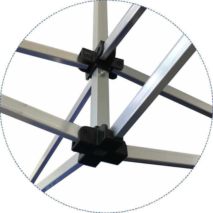 folding canopy Aluminum frame