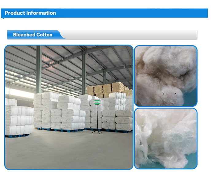 Disposable Raw Bleached Cotton Material Medical Supply Products