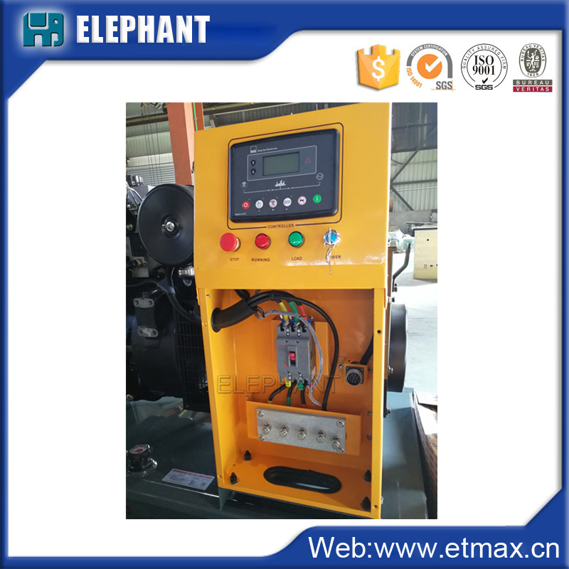 Water Cooled High Speed 22kVA 18klw Diesel Generator for Industry