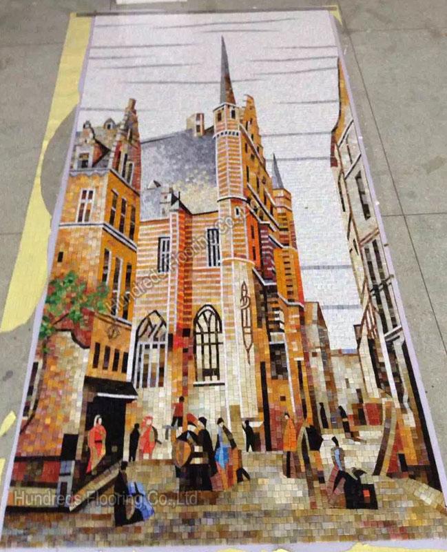 Art Mosaic Picture Wall Tile (HMP887)