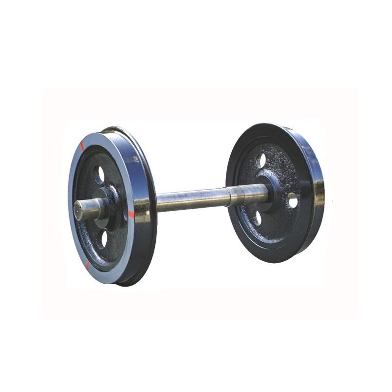 Customized Cast Steel Mine Car Wheels 300mm Diameter