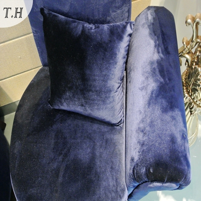 Shiny Italian Velvet Fabric for Sofa