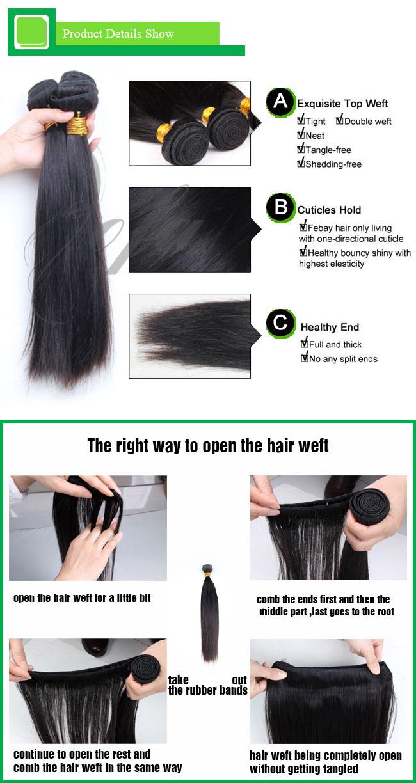 Wholesale Cheap Price Brazilian Virgin Hair Human Hair Extension