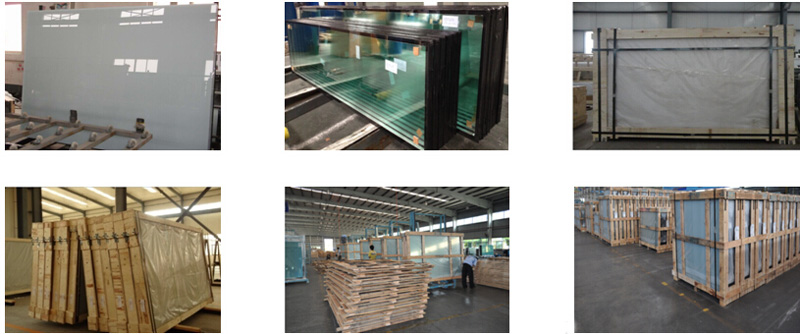 Railing Hollow Glass/Tempered Laminated Tinted Reflective Building Glass with Ce