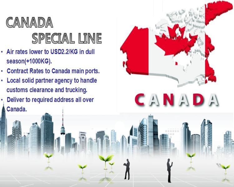 Shanghai Air Freight Forwarding to Montreal