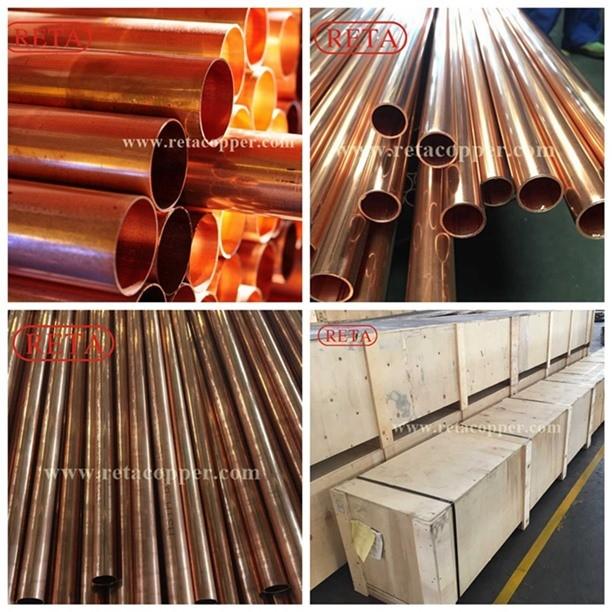 R410A Copper Pipe Straight Copper Tube
