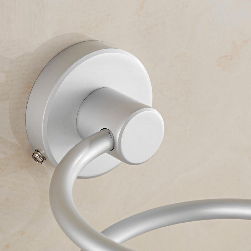 Aluminum Oxide Electric Hair Drier Holder Wall Mounted Salonbathroom Fittings Accessories Heavy
