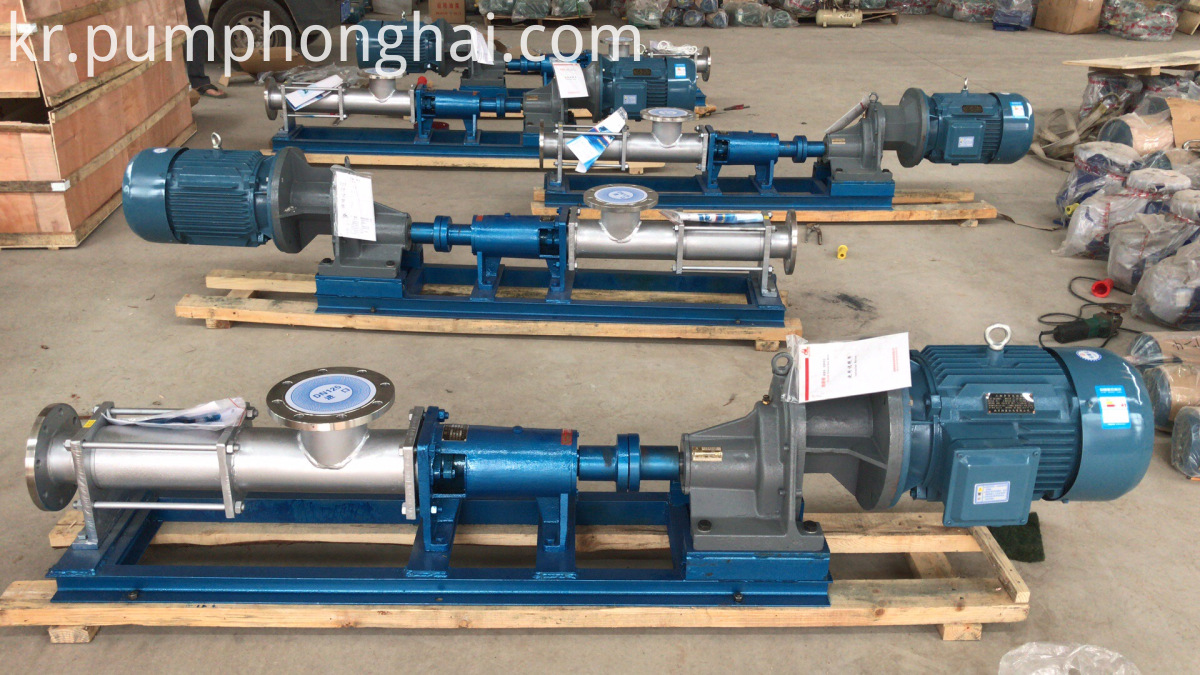 Food Grade Single Screw Pumps